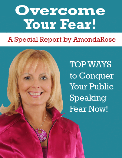 three ways overcome nervousness fear around public speaking