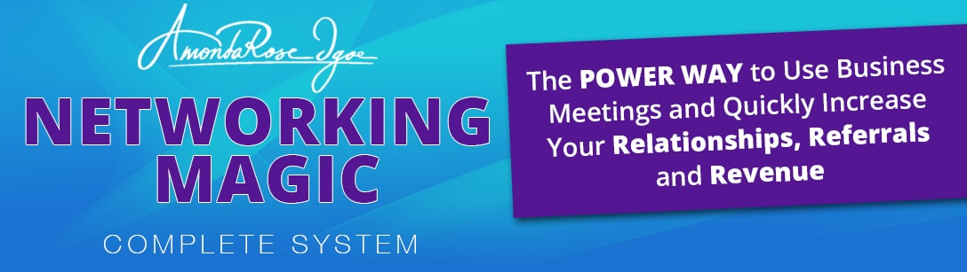 Networking Magic: The Power Way to Use Business Meetings and Quickly Increase Your Relationships, Referrals and Revenue.