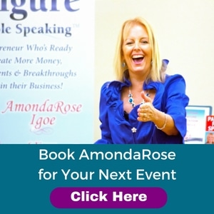 Book AmondaRose for Your Next Event