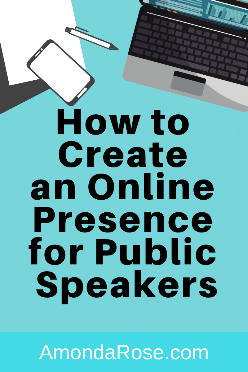 How to Create an Online Presence for Public Speakers