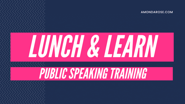 Public Speaking Insider Secrets Revealed: Lunch and Learn Workshop Series | Press Release
