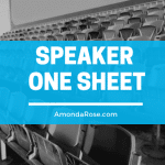 Essential Speaker One Sheet Elements Every Successful Speaker Wants to Know About