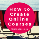 how to create online courses