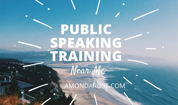 Public Speaking Training Near Me: Public Speaking Events and Training Courses