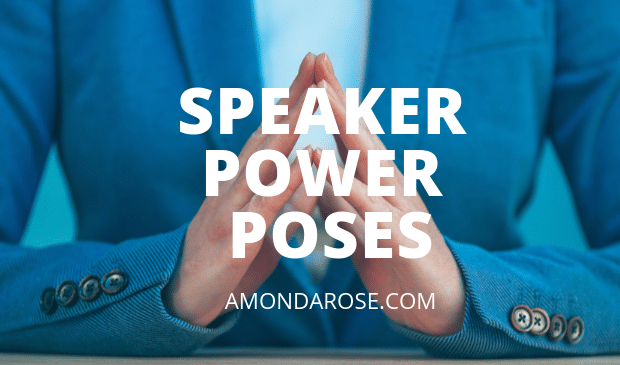 Speaker Power Poses