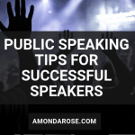 people raising their hands in the air at an event, public speaking tips to become a successful speaker