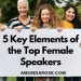 Five Key Elements of the Top Female Public Speakers