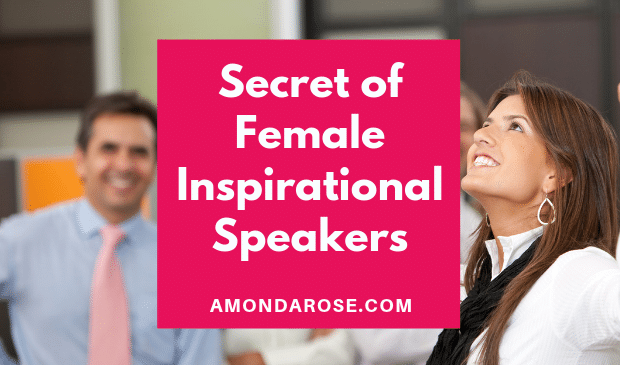 Top Secret of Female Inspirational Speakers