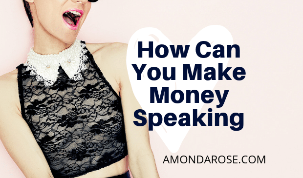 How Can I Make Money Speaking?