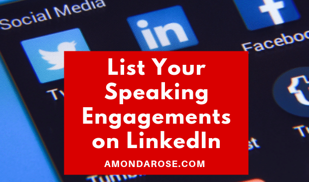 How Do I List My Speaking Engagements on LinkedIn?