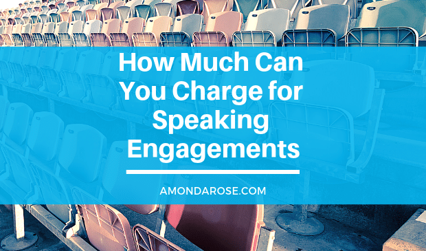 How Much Should I Charge for Speaking Engagements?