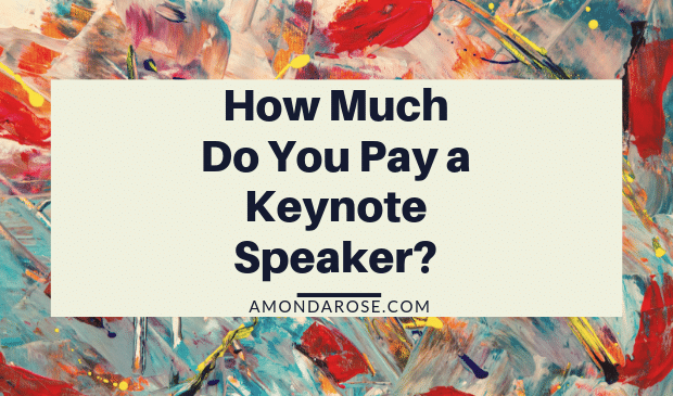 How Much Do You Pay a Keynote Speaker?